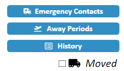 JW Scheduler Member Emergency Contacts Button